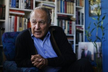 Former Egyptian foreign minister Ahmed Abul Gheit, expected to be elected as the new secretary general of the Arab League bon February 03, 2013 in the Egyptian capital Cairo.