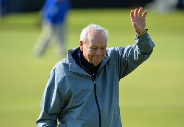 "Golf legend Arnold Palmer said that he is refusing to make the opening tee shot because he lacks ""the physical capability to hit the shot the way (he) would want to hit it"""