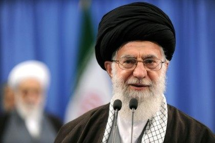 "Iran's supreme leader Ayatollah Ali Khamenei said last month's elections were ""healthy"""