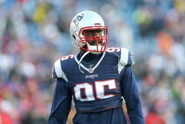 Chandler Jones, pictured on January 16, 2016, was the top pick in 2012 and had 12.5 quarterback sacks last season