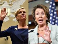 cecile richards (L) nancy-pelosi AP