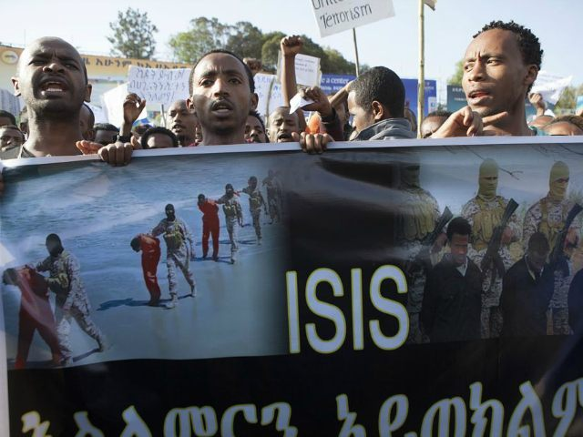 Ethiopians protest Christian genocide by Islamic State