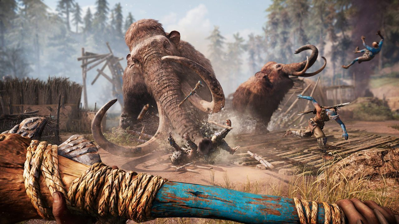 far-cry-primal-mammoth-attack