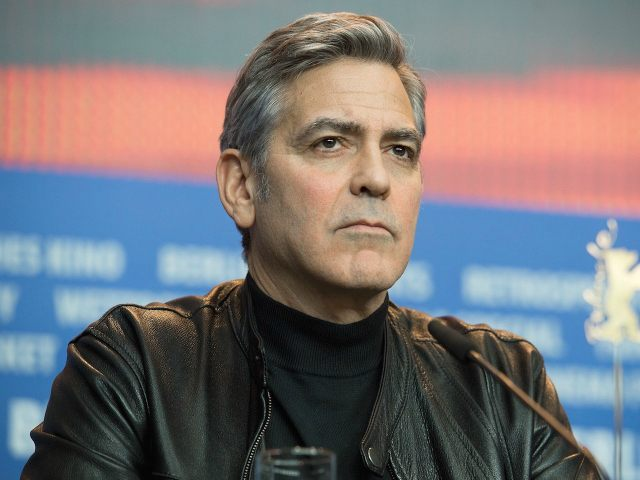 BERLIN, GERMANY - FEBRUARY 11: George Clooney attends the 'Hail, Caesar!' press conference during the 66th Berlinale International Film Festival Berlin at Grand Hyatt Hotel on February 11, 2016 in Berlin, Germany. (Photo by Matthias Nareyek/WireImage)