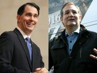 Scott Walker and Ted Cruz