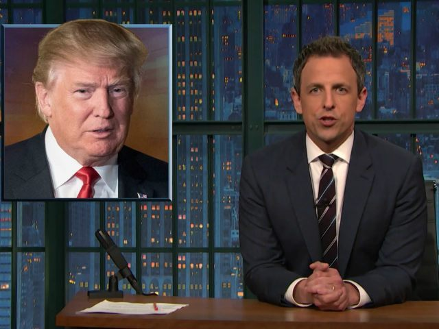 Seth Meyers Calls Donald Trump a 'F–king Clown'