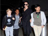 9-Year-Old Shiloh Jolie-Pitt Rocks 'Einstein Was a Refugee' T-Shirt