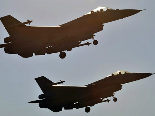 Two US-made F-16 fighters