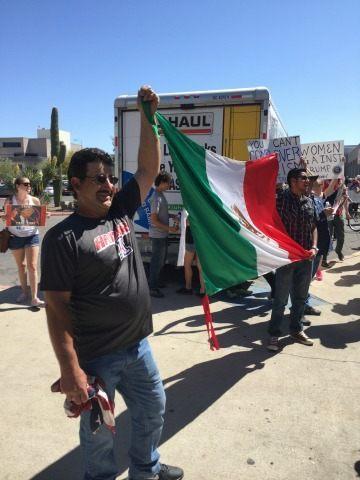 tuscon protesters