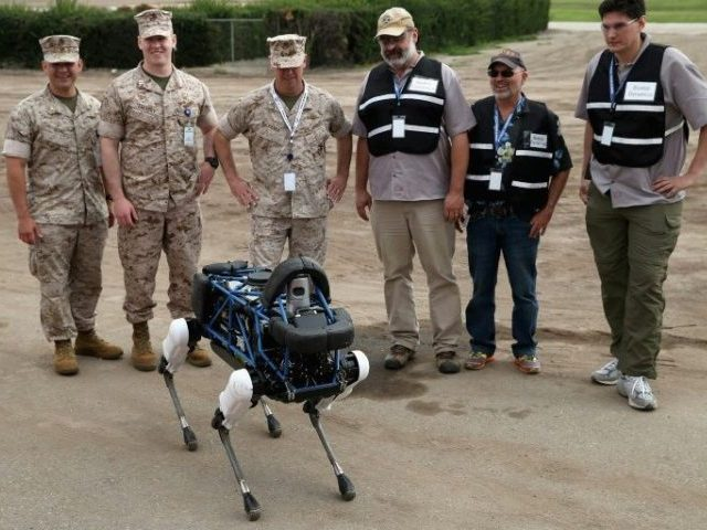 Boston Dynamics was launched in 1992 and specialises in developing four-legged robots such as 'Spot' for the US military