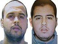 Handout pictures obtained via Interpol show Khalid (L) and Ibrahim (R) El Bakraoui, the two Belgian brothers identified as the suicide bombers who struck Brussels