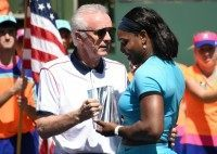 """Indian Wells tournament director Raymond Moore's comments about the women's game has been slammed as being """"offensive"""" by women's number one Serena Williams"""