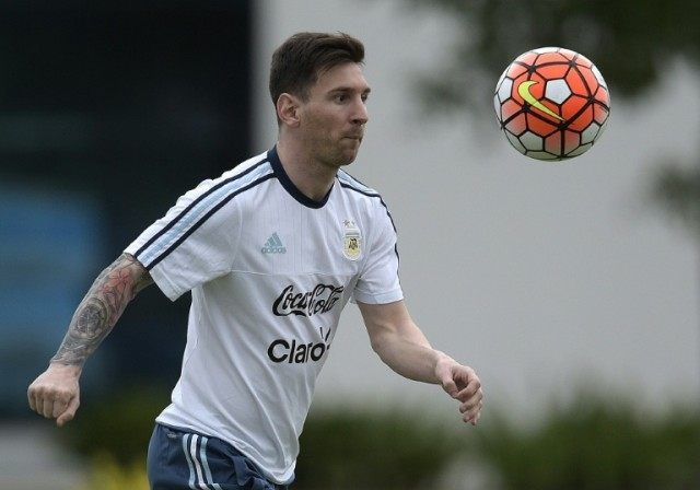 Lionel Messi missed the opening four matches of Argentina's 2018 qualifying campaign after suffering a knee injury while on club duty for Barcelona in September