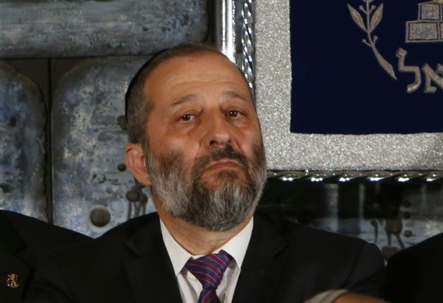 "Interior Minister Aryeh Deri confirmed on his Twitter account that he was under investigation, saying he had requested that a gag order on the publication of his name be lifted and that he was ready to ""respond to all questions"""