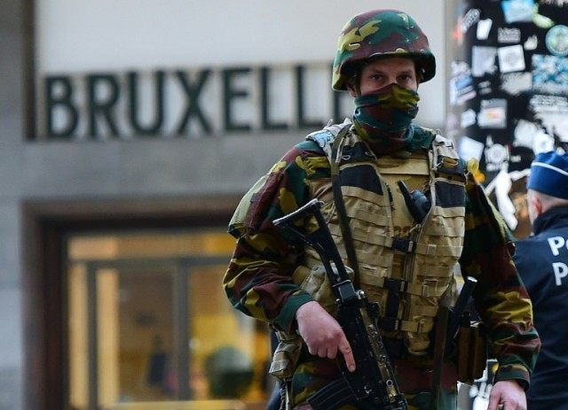 Belgium hiked its terror threat to its highest level after a triple suicide bombing in Brussels on March 22