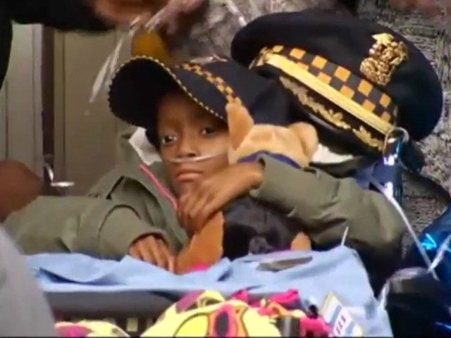 Chicago Police Made 6-Year-Old Cancer Patient's Dream of Being a Cop Come True