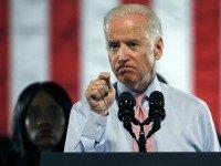 Vice President Joe Biden speaks at a rape-awareness event at the University of Colorado, in Boulder, Friday, April 8, 2016.
