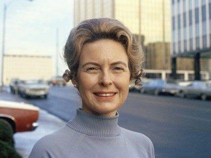 Phyllis Schlafly, chairwoman of GOP Women?s Organization, is shown in St. Louis, Jan. 17, 1973. (AP Photo)