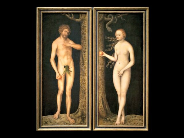 Adam and Eve Lucas Cranach 1510