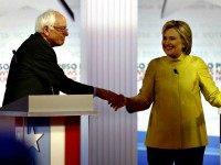 Bernie and Hillary AP Morry Gash