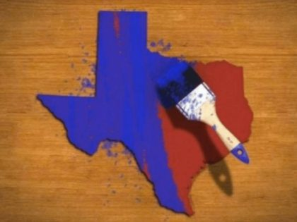 Survey: Largest Texas County Turning Blue