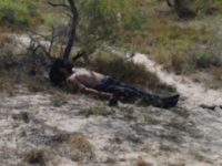 Body of Dead Migrant in Brooks County, Texas.