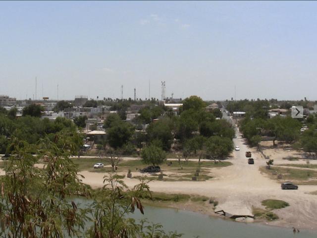 Border in Roma, Texas.