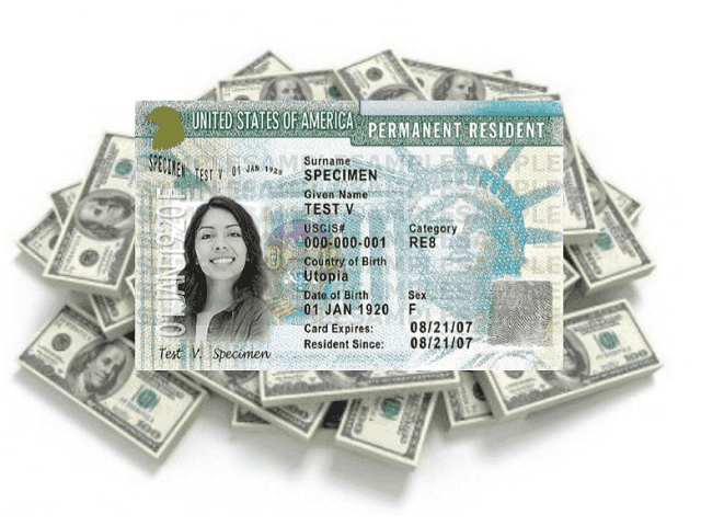 Cash for Green Card