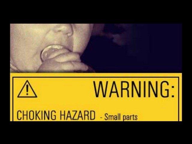 Choking Hazard Warning CBS AP