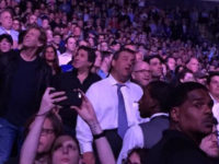 Christie at Springsteen