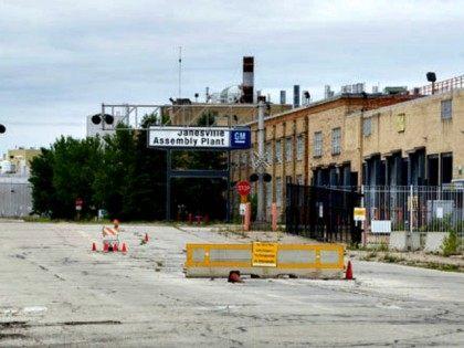 Closing GM Plant Janisville, MI AP