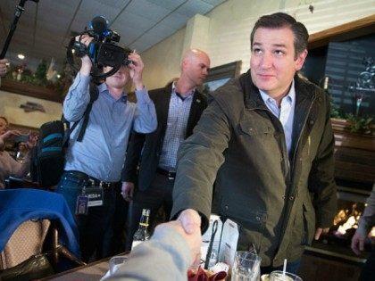 Republican presidential candidate Sen. Ted Cruz (R-TX) April 3, 2016 in Wausau, Wisconsin.
