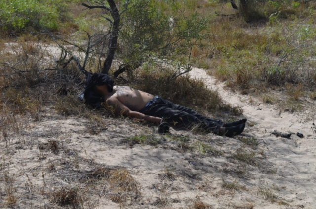 Mexican man left to die in fields of Brooks County. (File Photo: Breitbart Texas/Bob Price)