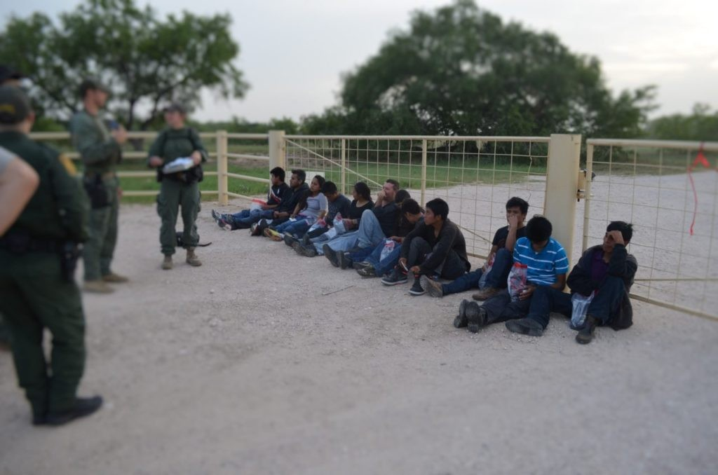 Border Patrol Agents tracked down a large group of illegal immigrants who had been dropped off by smugglers to hike around the Border Patrol checkpoint. (File Photo: Breitbart Texas/Bob Price)