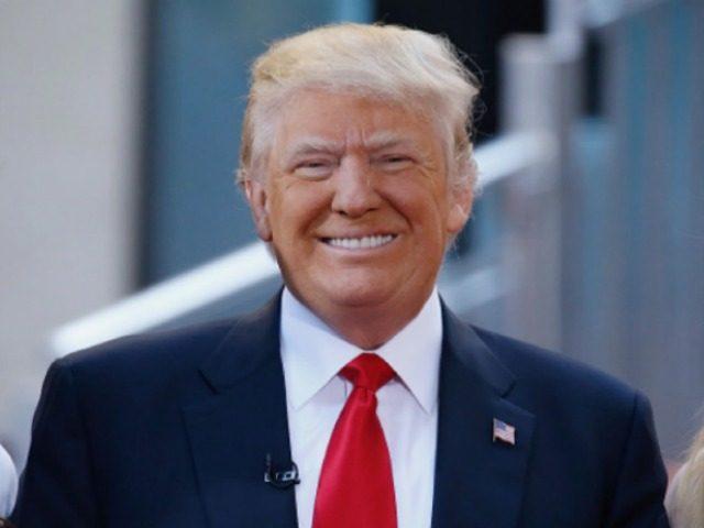 Donald Trump Smiling