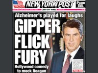 Will Ferrell Backs Out of Film Mocking Reagan's Alzheimer's