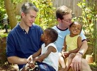 Gay parents (Eris Risbern / Associated Press)