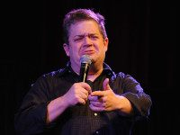 NEW YORK, NY - OCTOBER 11: Comedian Patton Oswalt performs on stage at The New Yorker Comedy Playlist with Patton Oswalt, Todd Barry, Marc Maron and Andy Borowitz at the MasterCard stage at SVA Theatre during The New Yorker Festival 2014 on October 11, 2014 in New York City. (Photo …