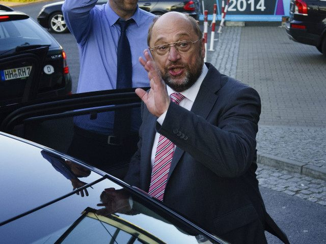 Martin Schulz Campaigns In European Elections