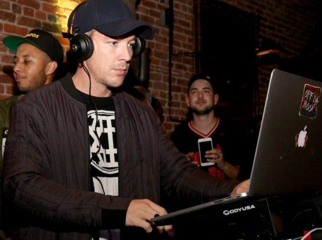 SAN FRANCISCO, CA - FEBRUARY 06: DJ Diplo performs during the New Era Super Bowl party at The Battery on February 6, 2016 in San Francisco, California. (Photo by Robin Marchant/Getty Images for New Era)
