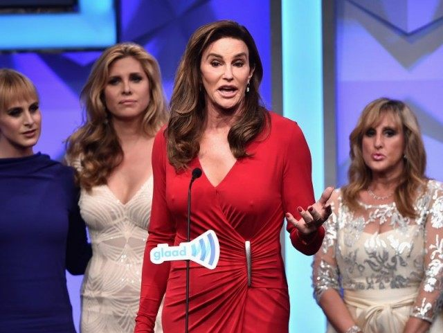 BEVERLY HILLS, CALIFORNIA - APRIL 02: TV personality Caitlyn Jenner accepts the award for Outstanding Reality Program onstage during the 27th Annual GLAAD Media Awards at the Beverly Hilton Hotel on April 2, 2016 in Beverly Hills, California. (Photo by Alberto E. Rodriguez/Getty Images for GLAAD)