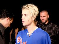 INGLEWOOD, CALIFORNIA - APRIL 03: Recording artist Justin Bieber backstage at the iHeartRadio Music Awards which broadcasted live on TBS, TNT, AND TRUTV from The Forum on April 3, 20 (Photo by Frazer Harrison/Getty Images for iHeartRadio / Turner)