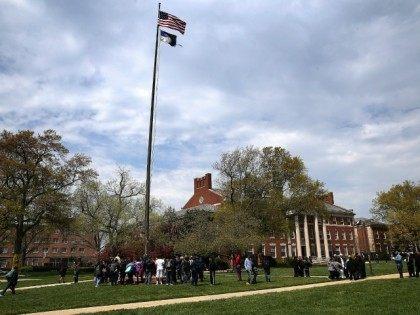 Students at Howard university April 11, 2016 in Washington, DC.