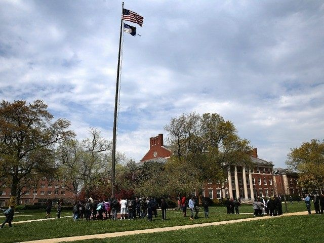 Students at Howard university April 11, 2016 in Washington, DC.