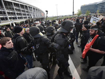 PICTURES: German Anti-Mass Migration Party Conference Attacked By 'Black Bloc' Leftists, Hundreds Of Arrests