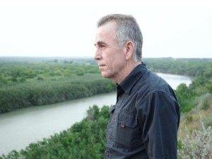 Glen Robertson Looks Out Across the Border near Laredo.