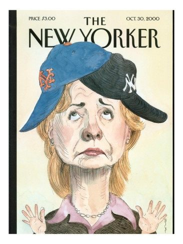 HRC New Yorker Cover