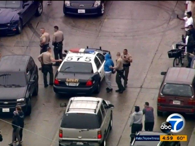 Wild police chase ends with arrests in Los Angeles