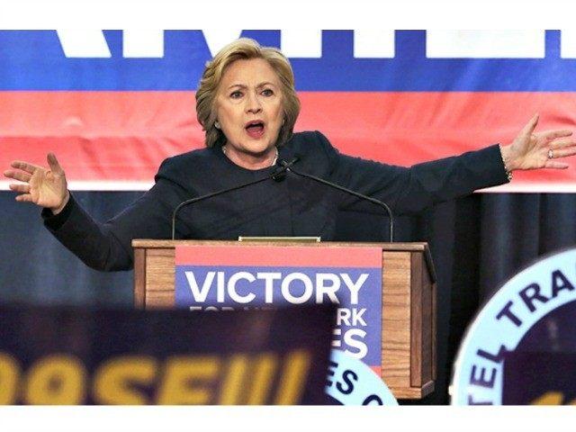 Hillary Clinton NY APRichard Drew