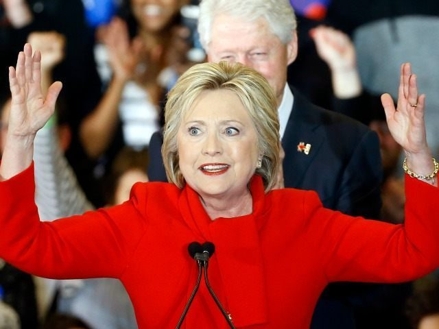 Hillary Victory Red Dress AP